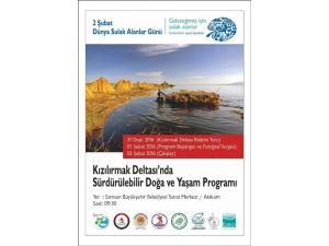 Kızılırmak Deltası'nda Sürdürülebilir Doğa Ve Yaşam Programı