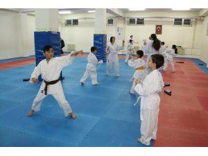 Karateciler: Derece alıp geleceğiz