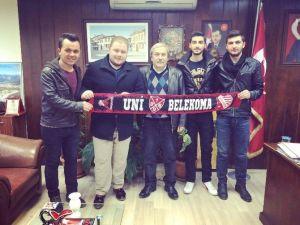Bilecik Uni11 Taraftar Grubundan Başkan Şahin'e Ziyaret