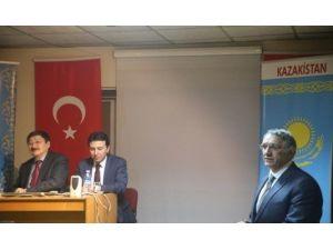 Güneş Vakfı Türksoy Başkanı'nı Ağırladı