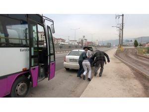 Hırsızlık Yapan Otobüs Şoförü Yakalandı
