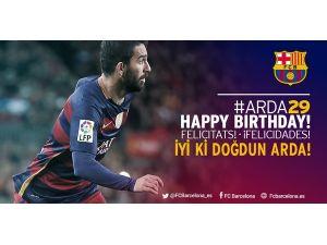 Barcelona Arda'nın 29. yaş gününü kutladı