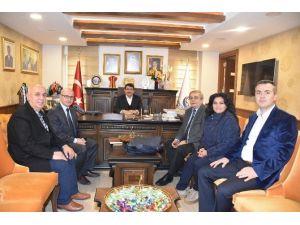 Trabzonlular Derneği'nden Başkan Çelik'e Ziyaret