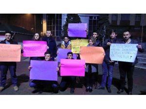 Kadıköy'deki Tecavüz Olayını Protesto Ettiler