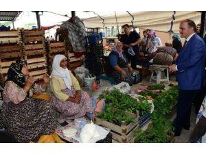 Pamukkale'de Semt Pazarlarında Yaz-kış Saati Uygulaması Başladı