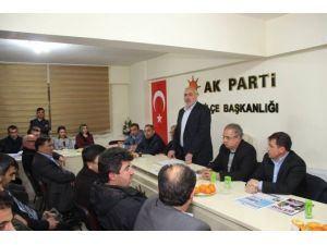 Gülcü, Ankara Ziyaretini Kamuoyuyla Paylaştı