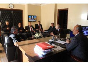 Uluçınar Köprüsü İçin Koordinasyon Toplantısı Yapıldı
