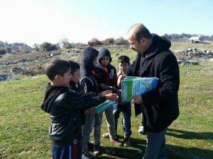 Başkan Ergün'den Gölmarmaralı Çocuklara Hediye