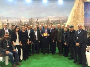 Emitt Fuarında Kapadokya'ya Büyük Ödül