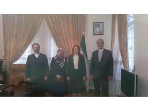 Sankon Genel Başkanı Atasoy'dan İran Büyükelçiliği'ne Ziyaret