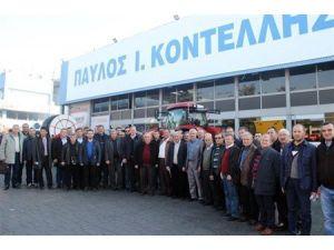 Edirne Ticaret Borsası Üyeleri Selanik Tarım Fuarı'nda