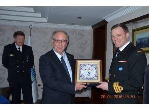 NATO Komutanları, Marmaris'te Ziyaretlerde Bulundu