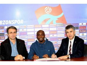 Trabzonspor, 1461 Trabzon'dan Akakpo'yu Kadrosuna Kattı