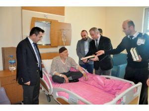 Hastane Odalarına Kur'an-ı Kerim