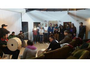 İzmit Belediyesi Ritim Kursuna Avrupa'dan Ziyarete Geldiler