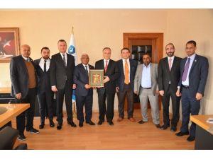 Etiyopya Büyükelçisi'nden Adana BTÜ'ye Ziyaret