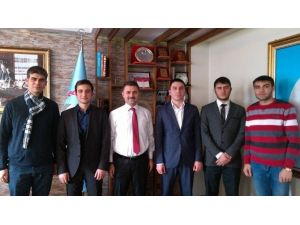 Erzurum Gençlik Meclisi, İl Milli Eğitim Müdürü'nü Ziyaret Etti