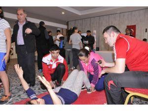 Minikler Halter Şampiyonası Antalya'da başladı