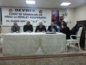 Devrek Esnaf Ve Sanatkarlar Kredi Ve Kefalet Kooperatifinden Genel Kurul Kongresi