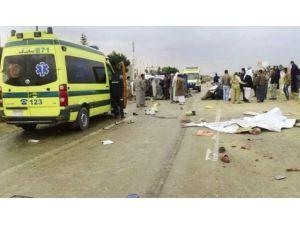 Mısır'da iki ayrı trafik kazası: 24 ölü, 24 yaralı