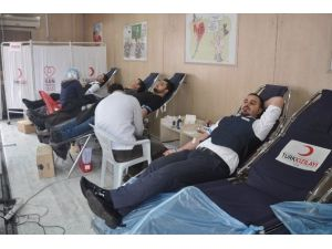 Tatvan'da Kan Bağışı Kampanyası
