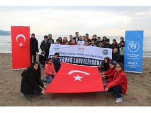 Muğla'da Kamp Yapan Millilerden Teröre Tepki