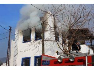 Bodrum'da Yangın: 1 Ölü