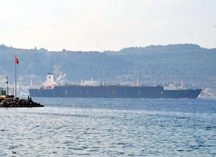 Bachir Chihani adlı doğalgaz tankeri Çanakkale Boğazı'ndan geçti