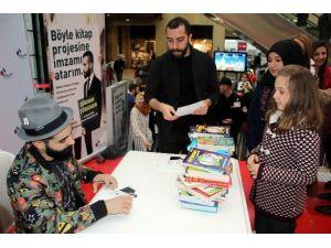 Gökhan Türkmen, Köy Okulları İçin Kitap Topladı