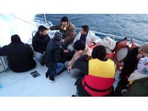 Antalya'da 5'i Çocuk 17 Göçmen Yakalandı