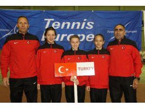 Türkiye, Tenis 12 Yaş Kış Kupası'nda Avrupa Finallerinde