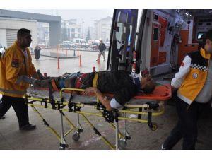 Asansör Boşluğuna Düşen İşçi Ağır Yaralandı