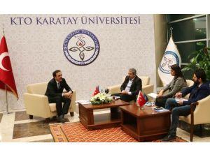 """Başkan Öztürk: """"KTO Karatay Üniversitesi Hızla Büyüyor"""""""