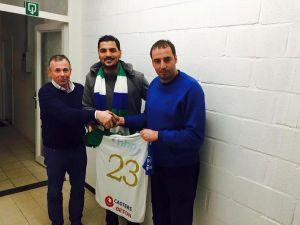 Önder Turacı Belçika üçüncü lig ekibiyle anlaştı