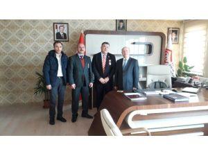 Türkiye Harp Malulü Gaziler Şehit Dul Ve Yetimleri Derneği'nden ASP'ye Ziyaret
