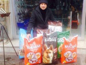 Çaycuma'da Sokak Hayvanları Unutulmadı