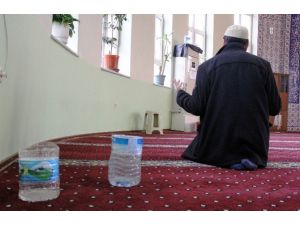 Kubbesi Akan Camide Kovalı Önlem