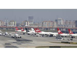 Türkiye'deki havayollarının uçak filosu 489 adet