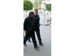 Patates ve soğan çalan zanlı mahkemece tutuklandı