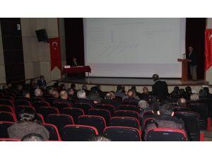 Bitlis'te koordinasyon toplantısı yapıldı