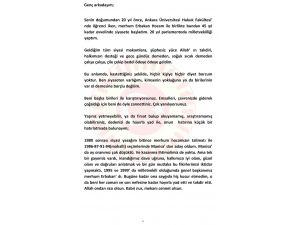Bülent Arınç'tan eleştirilere 6 sayfalık cevap