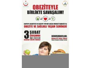 Kartepe Belediyesi'nden Obezite Semineri