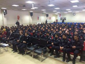 Polis adaylarına aile eğitimi verildi