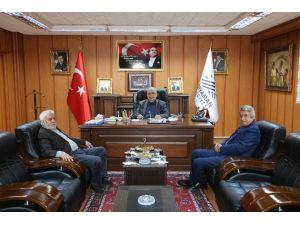 Beşiktaş Belediyesinden, Başkan Kutlu'ya Ziyaret