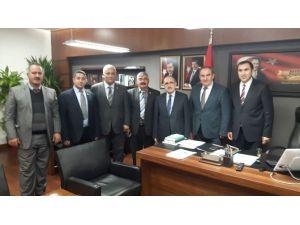 Oda Başkanlarından Van Milletvekillerine Ziyaret
