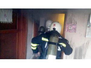 Havran'da Elektrik Kontağından Yangın Çıktı