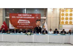 AK Parti'nin 14. Sivil Toplum Buluşmaları Osmaniye'de Yapıldı