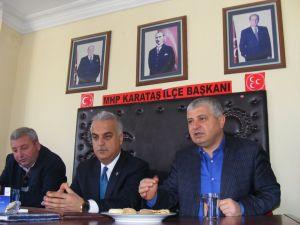 MHP'li Yılmaz: Türkiye'nin en büyük sorunu siyasi iktidar ve Saraydır