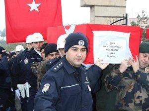 Şehit polisler Güney ve Cinpolat son yolculuklarına uğurlandı