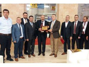 Emitt Fuarında Mardin'e Ödül
